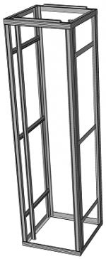 Flexi rack, freestanding